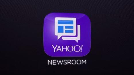 Yahoo Newsroom : une appli sociale qui s'attaque de front à Facebook | Chiffres et infographies | Scoop.it
