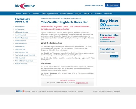 Tele Verified Hightech Users List | Bizcontrive | Scoop.it