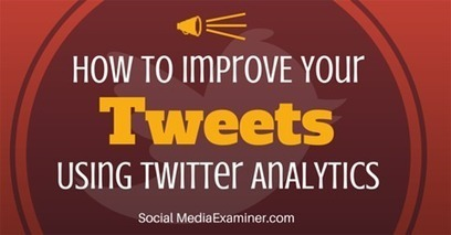 How to Improve Your Tweets Using Twitter Analytics | Social Media and Marketing | Scoop.it