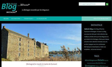 Le Comité Régional du Tourisme Bretagne lance BeBreizh-Blog.bzh   So' Saint-Quay-Portrieux   Scoop.it