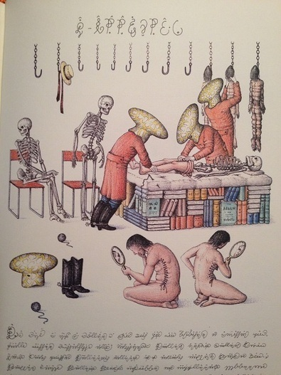 Codex Seraphinianus: A new edition of the strangest book in the world   Visual Heuristics   Scoop.it