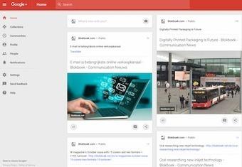 Blokboek artikelen nu ook via Google+ for Business - Blokboek - Communication Nieuws | BlokBoek e-zine | Scoop.it