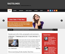 Rastolinos | Blogger themes | Scoop.it
