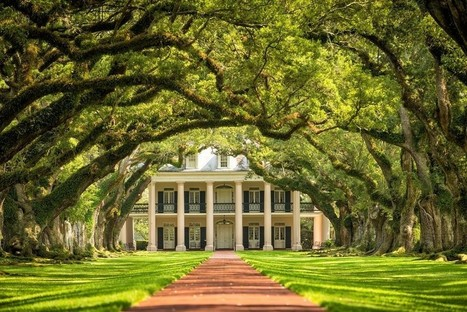 Ports of Call | French America Line | Oak Alley Plantation: Things to see! | Scoop.it