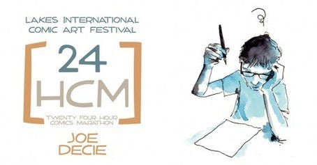 Lakes Festival choose not one, but two 24 Hour Comic Marathon artists | Creating Comics | Scoop.it