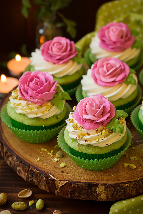 Pistachio Cupcakes - Cooking Classy | Passion for Cooking | Scoop.it
