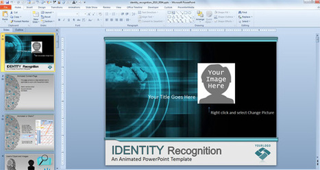 Awesome Identity Recognition & Cybercrime PowerPoint Template | PowerPoint Presentation | School | Scoop.it