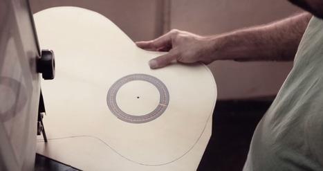 Relájate viendo el complicado y bello arte de crear guitarras flamencas | tecno4 | Scoop.it