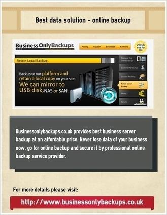 Best data solution - online backup | online backup | Scoop.it