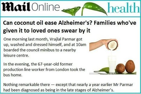 Coconut Ketones – Nature's Key to Conquering Alzheimer's « Gold ... | Virgin coconut oil | Scoop.it