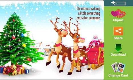 Merry Christmas Greeting Cards - Mobipixie | E-Cards For Birthday - wedding or anniversary | Scoop.it