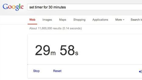 Use Google as a Timer with a Simple Search Command | Dalhousie ESL Programs | Scoop.it