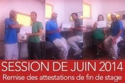 Remise des Attestations de Formation Web du Mois de Juin 2014. | Actu de la Com' et du Web | Scoop.it