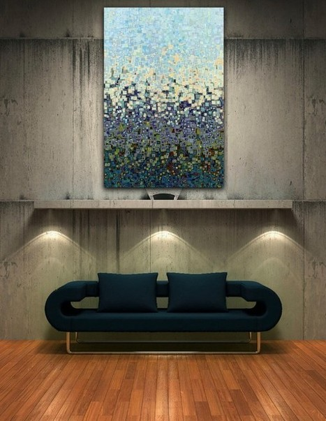 Home Decorating with Modern Art | Collecting About Design | Scoop.it