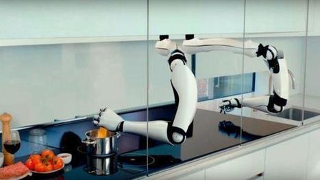 Mira esta sorprendente cocina del futuro que usa robots [VIDEO] | Managing Technology and Talent for Learning & Innovation | Scoop.it