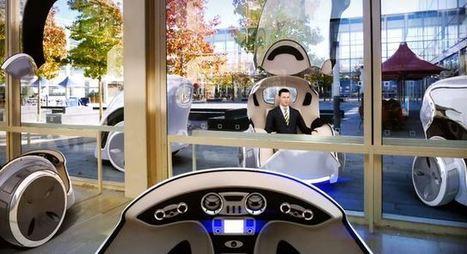 Grande-Bretagne : des taxis sans chauffeur dès 2015 | Les transports urbains | Scoop.it