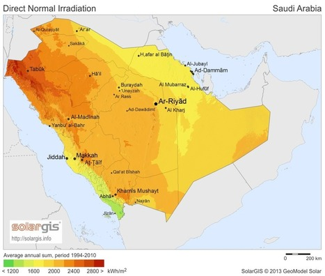 Arabia Saudí allana el camino para la CSP | Termosolar | Scoop.it