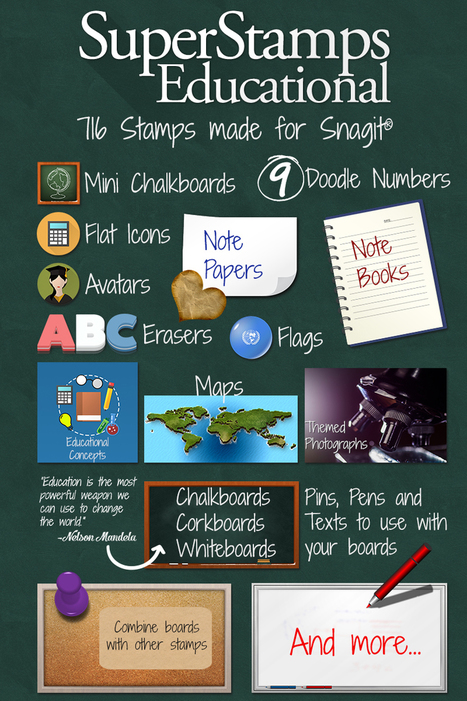 SuperStamps Educational — SoftwareCasa | Snagit Stamps | Scoop.it