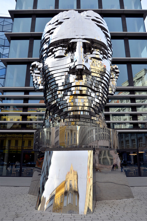 Czech Republic: A Rotating 42-Layer Sculpture of Franz Kafka's Head by David Cerny | Beyond London Life | Scoop.it