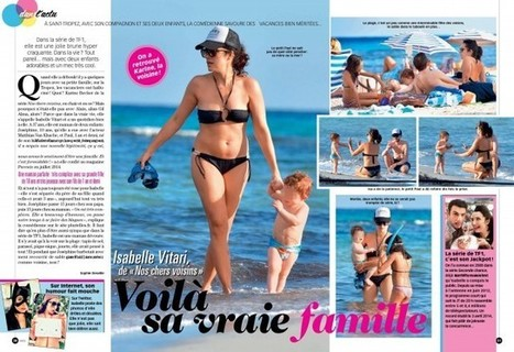Photos Closer : Isabelle Vitari en bikini sexy | Radio Planète-Eléa | Scoop.it