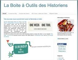 Un blog sur les outils numériques de l'historien | Datos, lenguajes, historia, conocimiento | Scoop.it