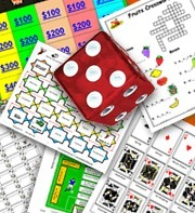ESL Printable Board Games, Card Games & Communicative Exercises   Tabletop Games for Learning   Scoop.it