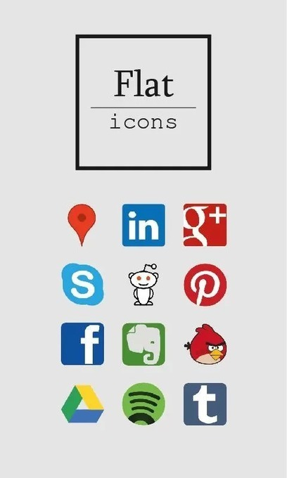 Flat icons (ADW/Apex/GO/Nova) v3.5 | ApkLife-Android Apps Games Themes | Android Applications And Games | Scoop.it