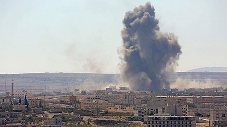 Airstrikes Near Kobani Not Stopping ISIS Takeover of Syrian Town | Palestine | Scoop.it