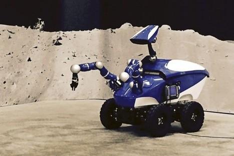 Un astronaute contrôle un robot depuis l'espace grâce au toucher | Jo Biddle | Astronomie et espace | ichtyologie | Scoop.it