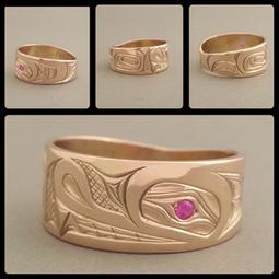 The Growing Trend of Native American Wedding Rings | Northwest Native American Indian Art & Jewelry | Scoop.it
