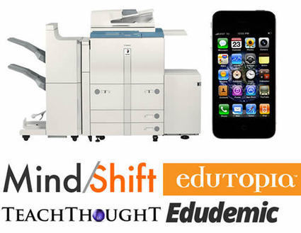 A photocopier or an iPhone: which is more powerful? | English Teacher's Digest | Scoop.it