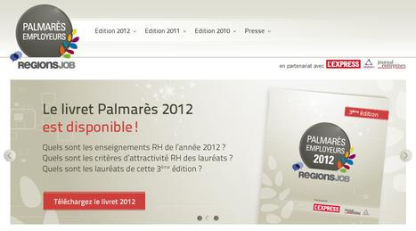 Palmarès Employeurs - Les entreprises les plus attractives de votre région | Time to Learn | Scoop.it