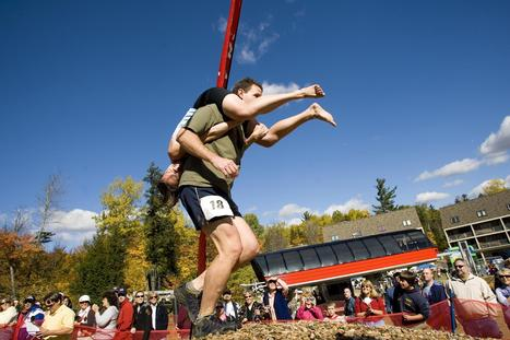 Wife Carrying: She Ain't Heavy, She's My Lover ... | Strange days indeed... | Scoop.it