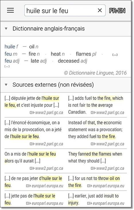 Linguee sur Android : c'est disponible | la nouvelle technologie et le FLE | Scoop.it