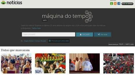 Sapo lança Máquina do Tempo. Aos últimos 25 anos de Portugal | REACTION NEWS | Scoop.it