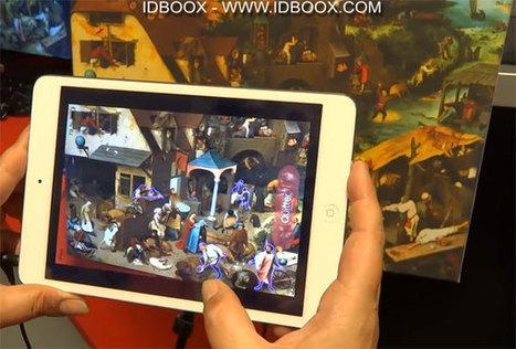 Expliquer et jouer avec une oeuvre grâce à la réalité augmentée | Games e Aprendizagem | Scoop.it