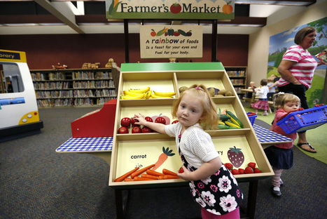 Smart Play area becomes a library hot spot for kids - Minneapolis Star Tribune   The Information Professional   Scoop.it