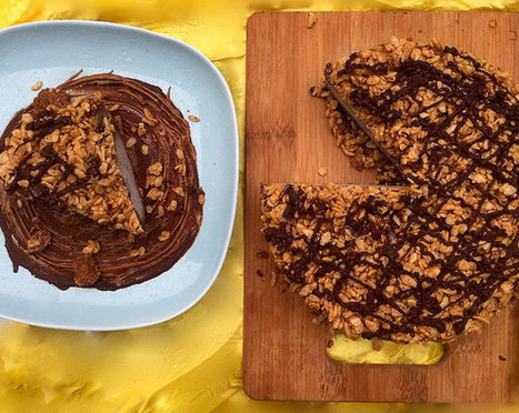 This No-Bake Vegan Biscoff Ice Cream Cake Is Perfect for Summer | My ...