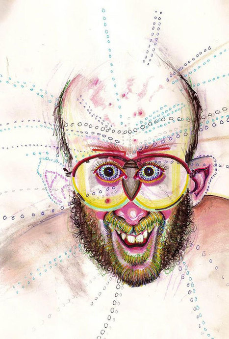 30 Self-Portraits Drawn While the Artist Was Under the Influence of 30 Drugs | fitness, health,news&music | Scoop.it