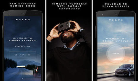 Take A Virtual Test Drive With Volvo And Google Cardboard | MarketingHits | Scoop.it