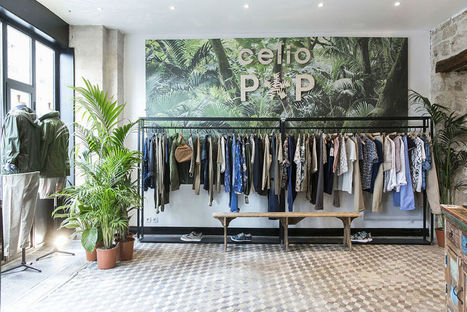 Celio ouvre deux pop-up stores connectés à Paris | Fluidifier son parcours client crosscanal pour une expérience client positive | Scoop.it