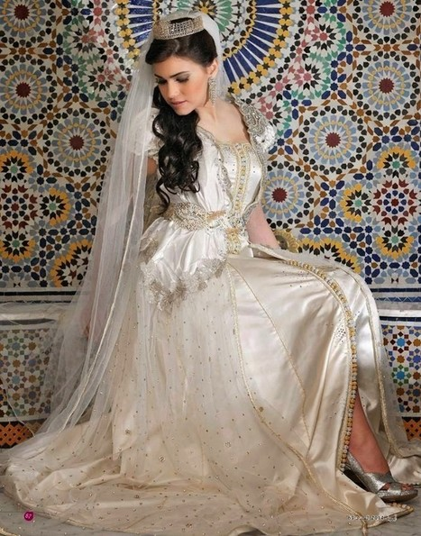 Takchita mariage 2015 style haute couture | caftanboutique | Scoop.it