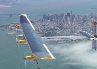 Solar-powered plane preps for first cross-country flight   mrlscience12G   Scoop.it