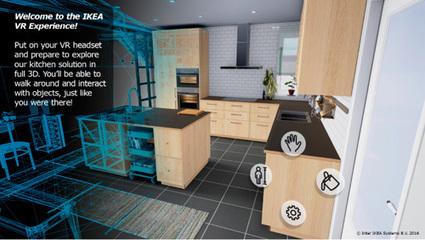 Ikea se lance dans la réalité virtuelle | Fabrication numérique & réalité virtuelle | Scoop.it
