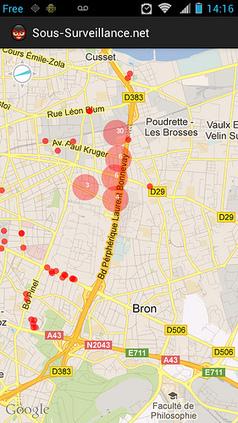 Sous-surveillance.net mobile client ! | Urbanisme vivant | Scoop.it