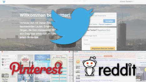 Top 20 der sozialen Netzwerke in Deutschland: Twitter, Pinterest und Reddit boomen   Social Media   Scoop.it