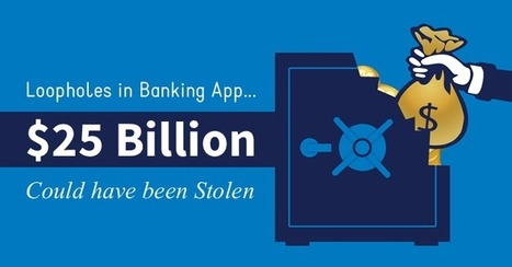 Hacker finds flaws that could let anyone steal $25 Billion from a Bank | Jeff Morris | Scoop.it