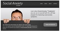 """Social Anxiety Disorder Treatment 