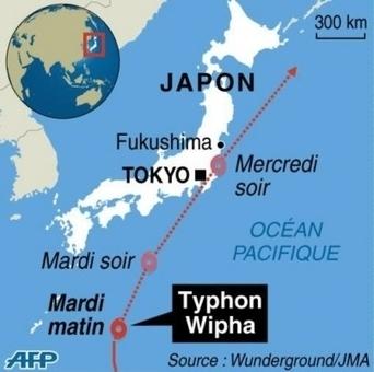 Wipha, le typhon qui affole le Japon | actualités internationales | Scoop.it