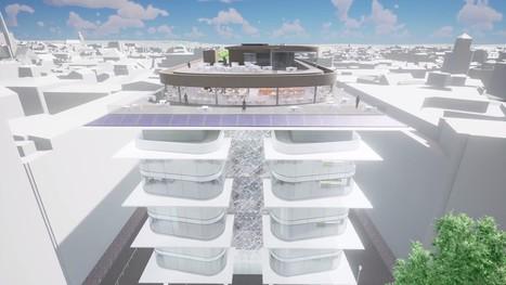 Un jardin urbain sur le toit de Brucity, futur centre administratif de Bruxelles | ville et jardin | Scoop.it
